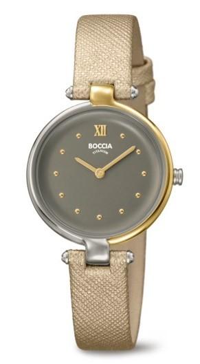 Boccia Damen Armbanduhr 3278-04 Trend