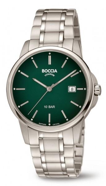 Boccia Herren Armbanduhr 3633-05 Classic