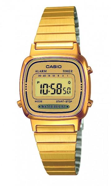 Casio Damen Armbanduhr LA670WEGA-9EF Vintage digital