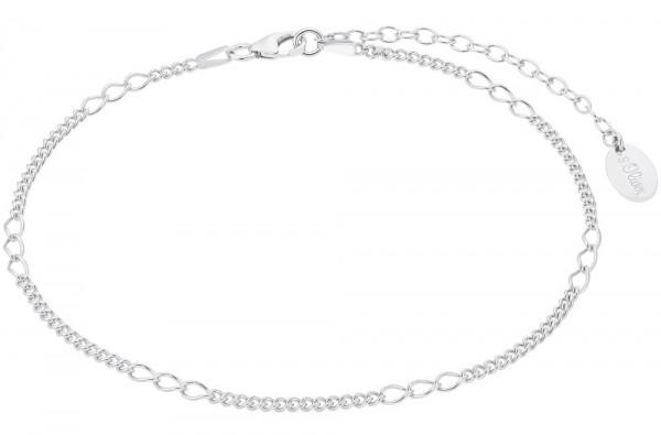 s.Oliver Damen Fußkettchen 2032124 Silber