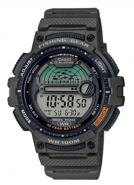 Casio Herren Armbanduhr WS-1200H-3AVEF digital