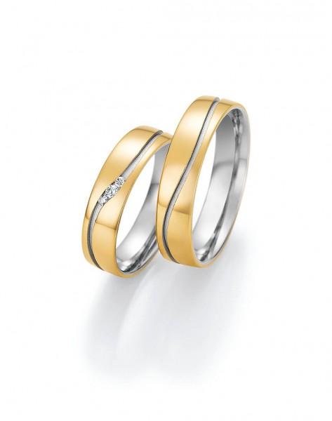 Eheringe Trauringe Solid VI 66/46050 66/46060 Gelbgold Weißgold