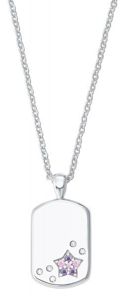 Lillifee Mädchen Halskette 2027207 Stern Silber Zirkonia