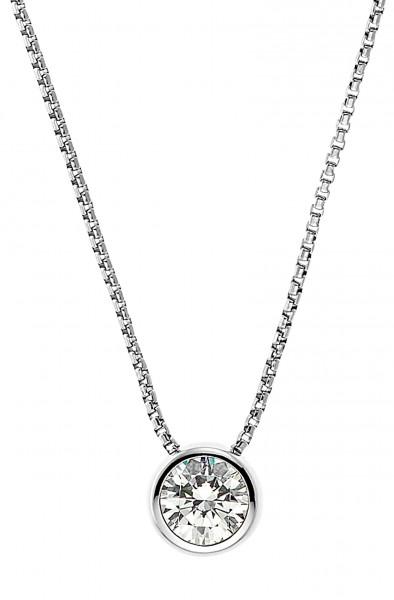 JOOP! Halskette 2030996 Zirkonia Silber
