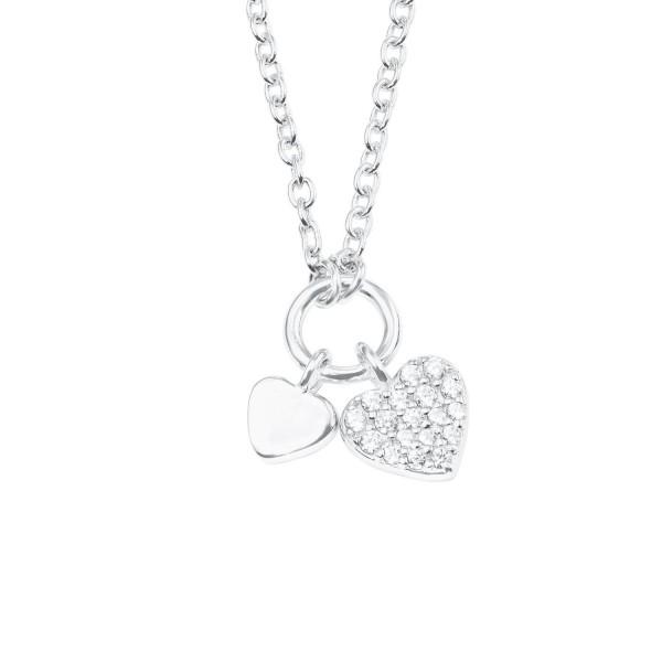 s.Oliver Mädchen Halskette 2022700 Herz Silber 925