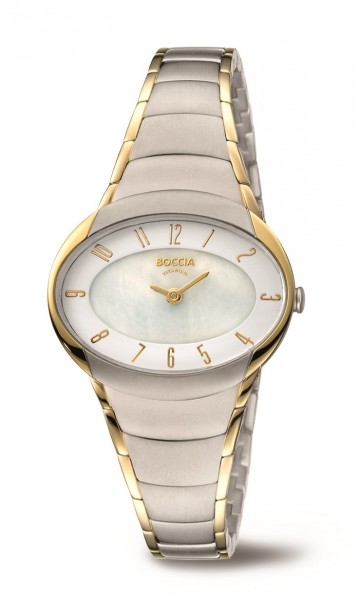 Boccia Damen Armbanduhr 3255-04 Trend