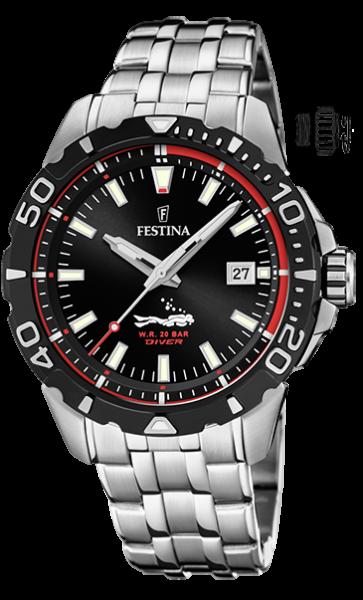 Festina Herren Armbanduhr F20461/2 The Originals
