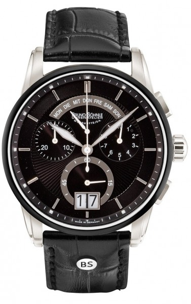Bruno Söhnle Herren Armbanduhr 17-73117-741 Grandioso Chronograph