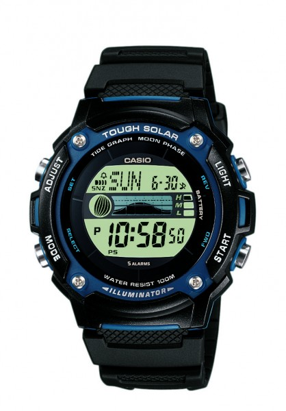 Casio Herren Armbanduhr W-S210H-1AVEF Tough Solar digital