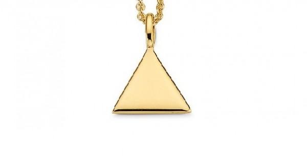 CEM Trends Damen Anhänger 6-208325-001 G3-00379A Dreieck Gold