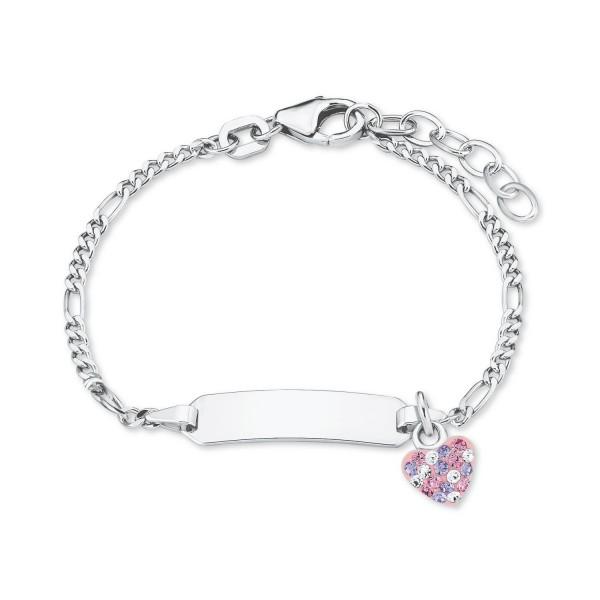 Lillifee Ident Armband 2021115 Herz Silber 925