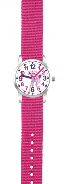 Scout Kinder Armbanduhr 280310004 UP! Einhorn pink