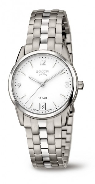 Boccia Damen Armbanduhr 3272-03 Classic