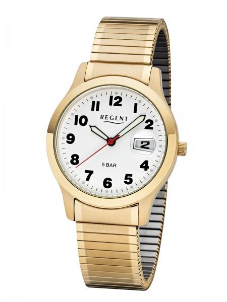 Regent Herren Armbanduhr 1753.45.99 F-1017 Zugband