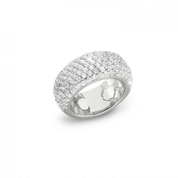 JOOP! Damen Ring 2023368 Zirkonia Silber