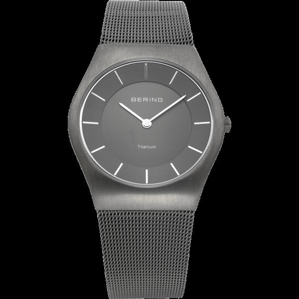 Bering Herren Armbanduhr 11935-077 Titanium