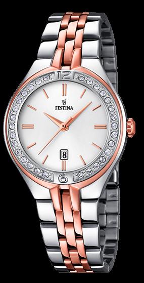 Festina Damen Armbanduhr F16868/2 Mademoiselle