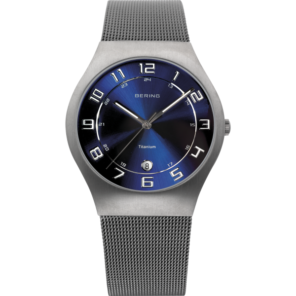 Bering Herren Armbanduhr 11937-078 Titanium
