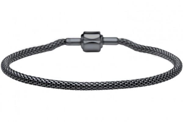 Bering Damen Armband 613-60-X Edelstahl schwarz ARCTIC SYMPHONY COLLECTION