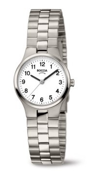 Boccia Damen Armbanduhr 3082-06 Classic