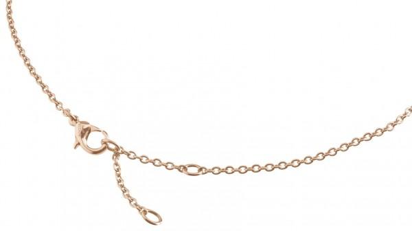 Boccia Damen Halskette 08024-0345 Anker Titan roségold IP