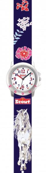 Scout Kinder Armbanduhr 280393006 STAR KIDS 'Flower Horses'