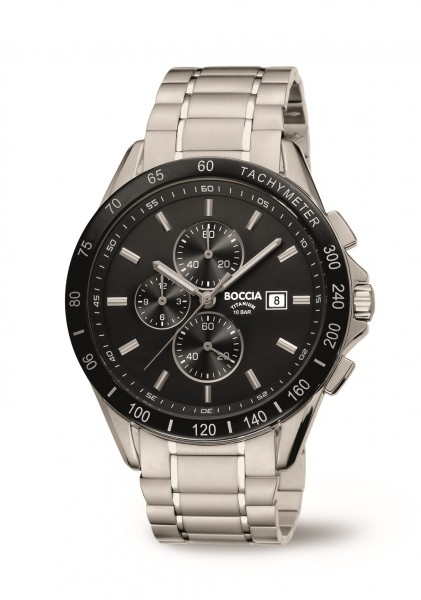 Boccia Herren Armbanduhr 3751-02 Chronograph Sport
