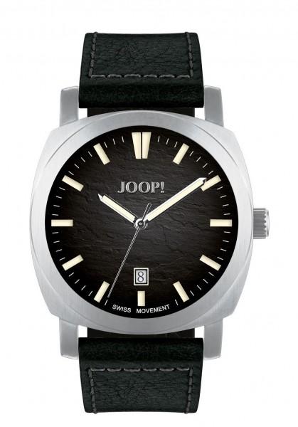 JOOP! Herren Armbanduhr 2027592 Lederband schwarz
