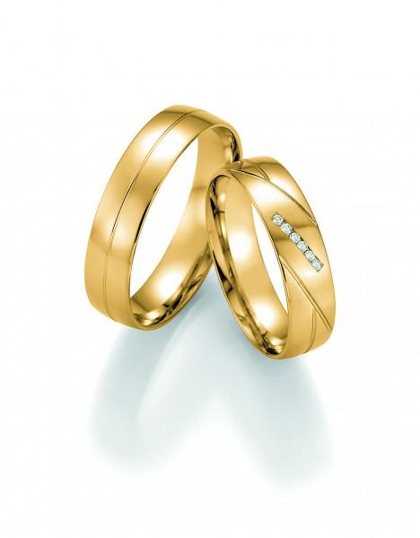 Trauringe 66/30050-30060 Pure I Gelbgold