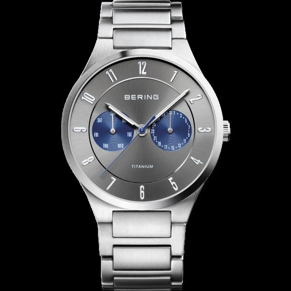 Bering Herren Armbanduhr 11539-777 Titanium