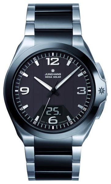 Junghans Herren Armbanduhr 018/1120.44 Spektrum Mega Solar