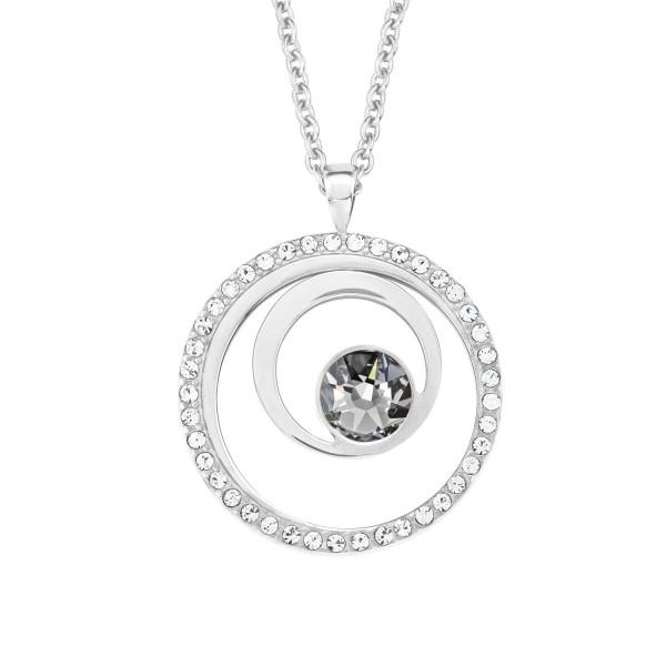 s.Oliver Damen Halskette 2015126 mit Swarovski Crystals