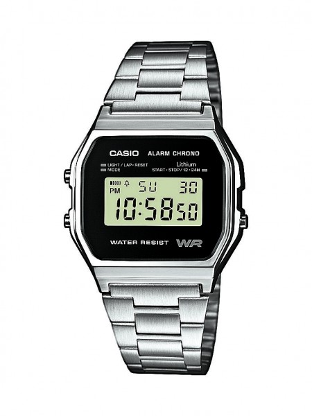 Casio Herren Armbanduhr A158WEA-1EF Vintage digital