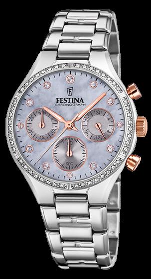 Festina Damen Armbanduhr F20401/3 Boyfriend Chronograph