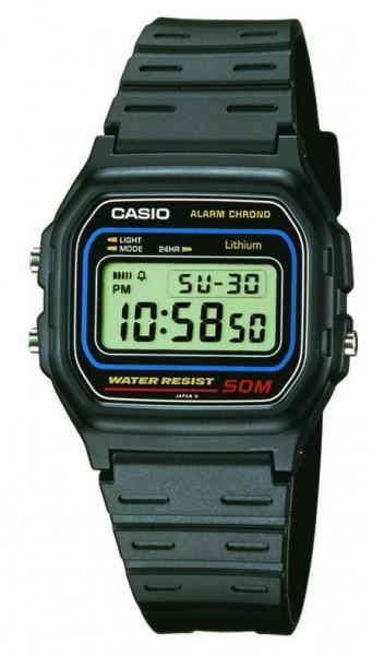 Herren-Armbanduhr digital W-59-1VQES Casio