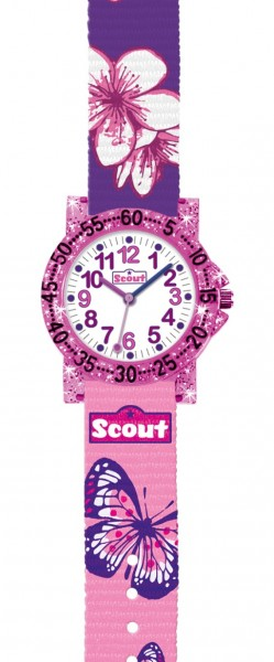 Scout Kinder Armbanduhr 280375013 The IT-Collection 'Asia Flower' 'Cool Girl'