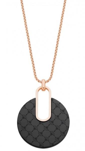 JOOP! Damen Halskette 2027714 Edelstahl IP Rose+Black