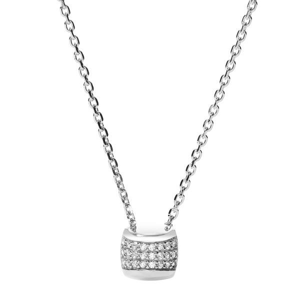 Fossil Damen Halskette JFS00349040 Zirkonia