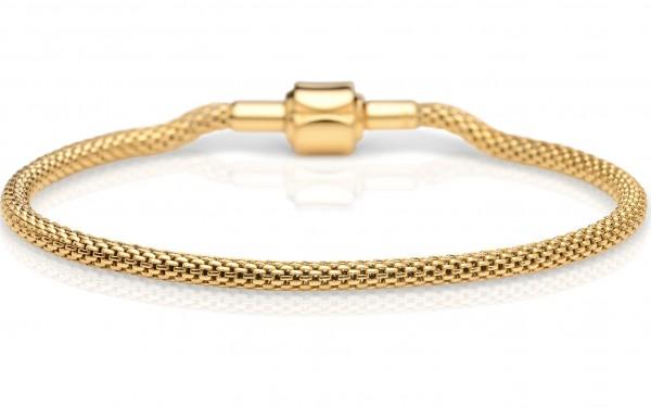 Bering Damen Armband 613-20-X Edelstahl Gelbgold ARCTIC SYMPHONY COLLECTION