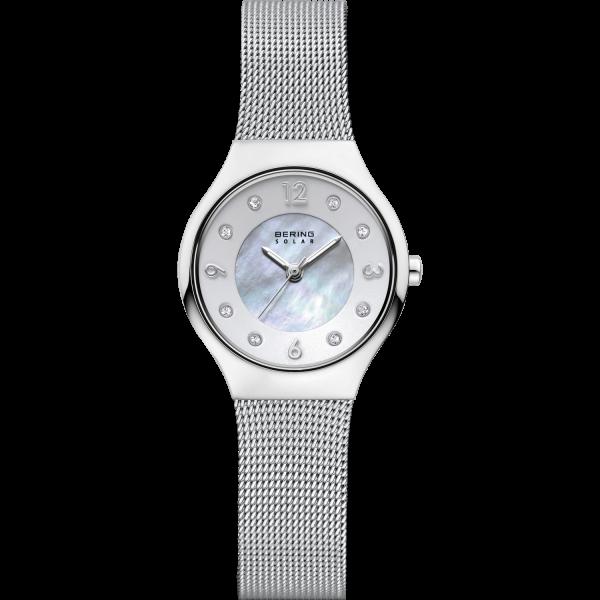 Bering Damen Armbanduhr 14427-004 Slim Solar