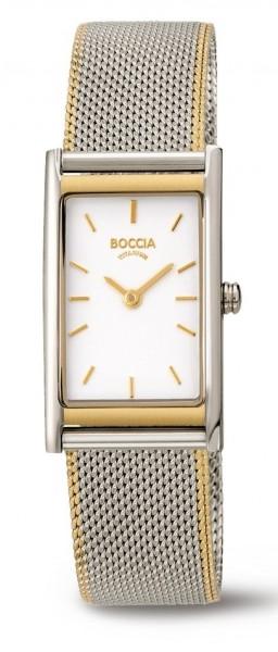 Boccia Damen Armbanduhr 3304-02 Trend bicolor