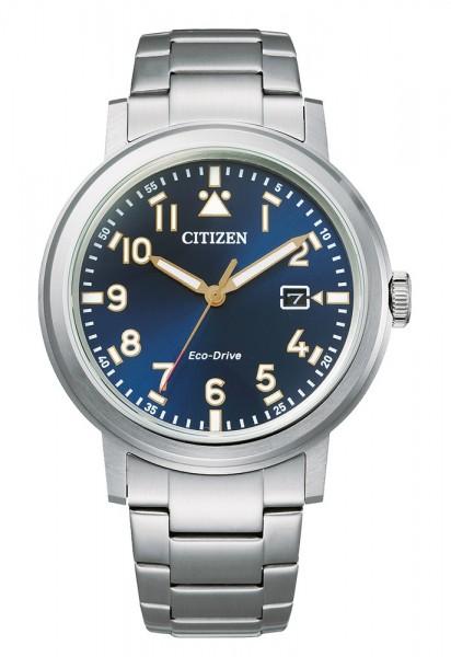 Citizen Herren Armbanduhr AW1620-81L Eco-Drive