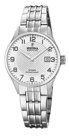 "Festina Damen Armbanduhr F20006/1 ""Swiss Made"""