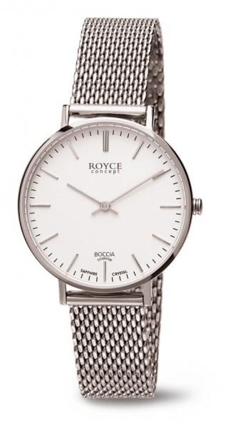 Boccia Damen Armbanduhr 3246-06 Royce