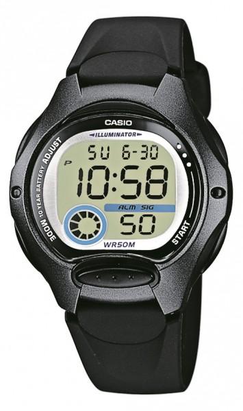 Casio Kinder Armbanduhr LW-200-1BVEG digital