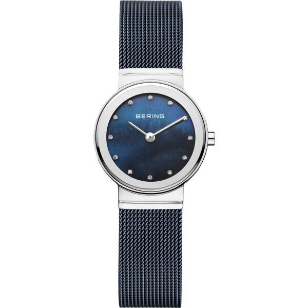 Bering Damen Armbanduhr 10126-307 Classic blau