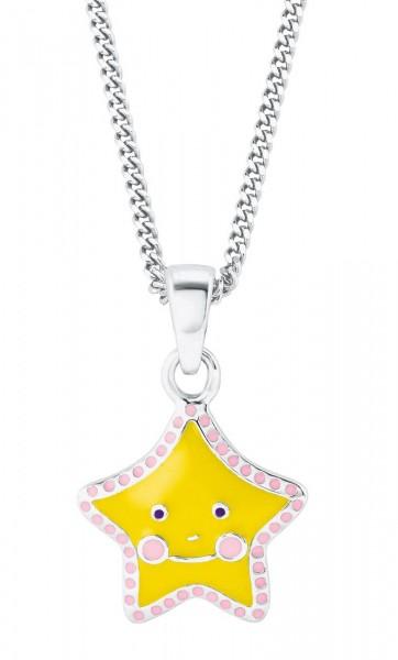 Lillifee Mädchen Halskette 2024365 Stern Gelb Silber