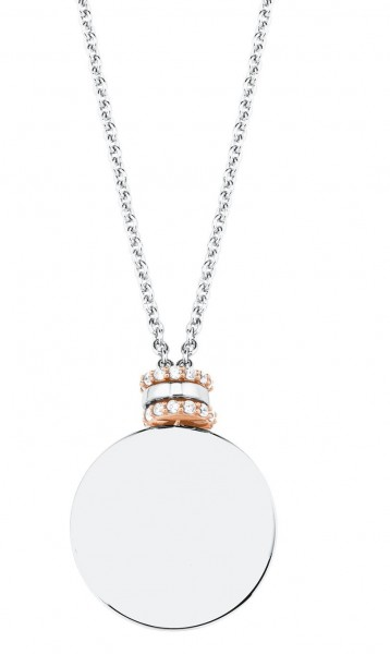 s.Oliver Damen Halskette 2027611 Silber Zirkonia