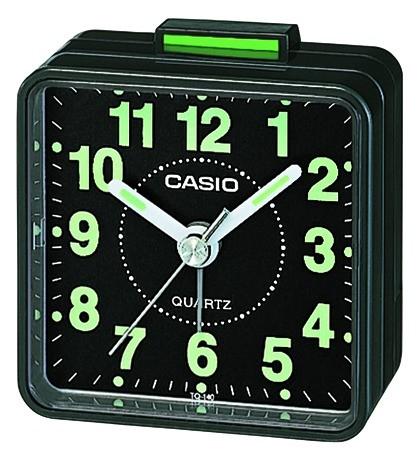 Casio Wecker TQ-140-1EF analog schwarz