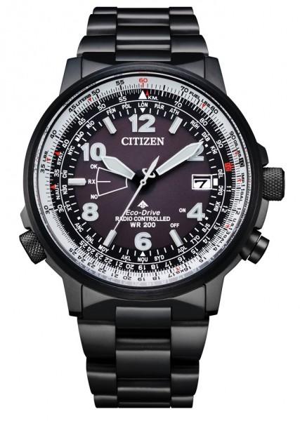 Citizen Herren Armbanduhr Promaster CB0245-84E Funk Eco Drive